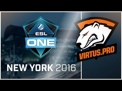 CS:GO - Virtus.Pro at ESL New York (Highlights vs SK and Na'Vi)