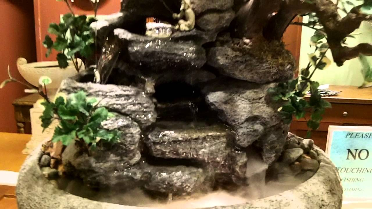 Natural Creations, Inc Indoor Tabletop Fountain # 397 - YouTube