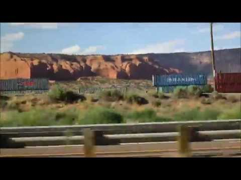BNSF Freight Trains in Oklahoma, 6/29/14
