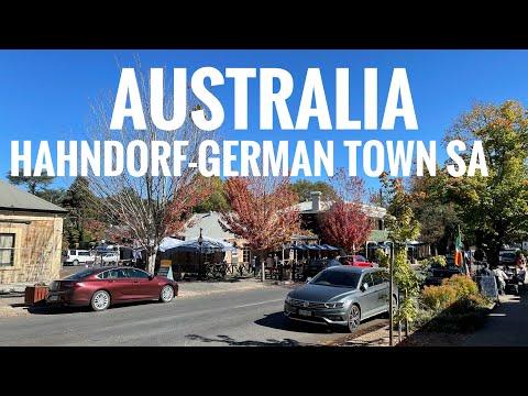[4K] HAHNDORF-GERMAN TOWN || SOUTH AUSTRALIA || TRAVEL & EVENTS 2021[Dualgram]