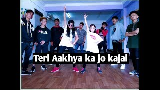 Teri Aakhya Ka Yo Kajal | Dance Choreography by Nabin lama |haryanvi Video song