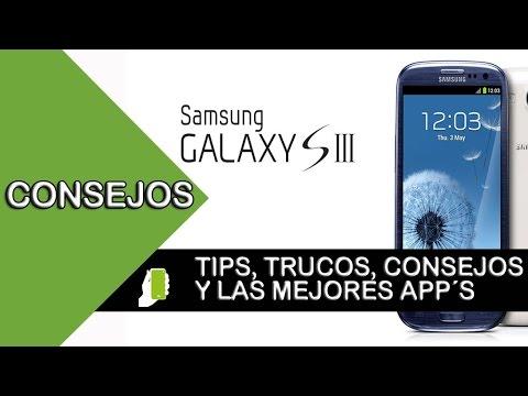 Samsung Galaxy S3  tips  y trucos para android (aumenta velocidad, rendimiento y batería) Parte #1