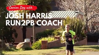 Josh Harris - Session Day (15min Hilly Tempo / 2 x 1km / 2 x 300m Hill Reps)
