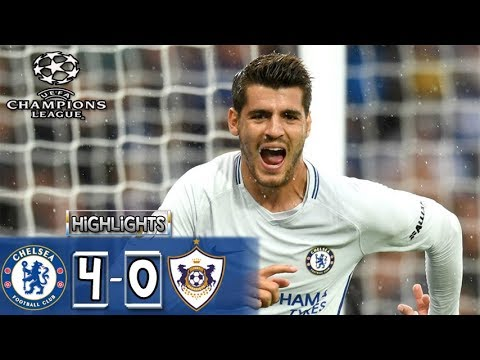 Download Qarabağ vs Chelsea 0-4 HIGHLIGHTS Vs All Goals| UEFA Champions League 2017 22/11