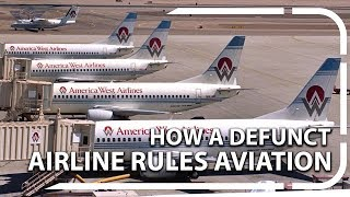 The defunct airline ruling the American aviation industry