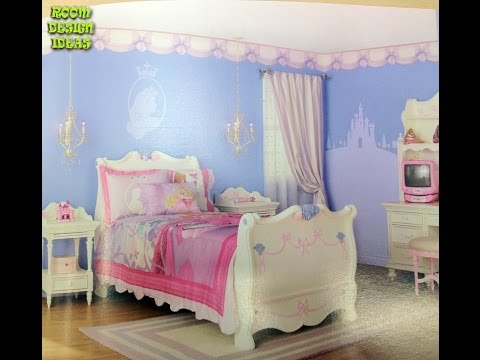 Disney Princess Room Decorating Ideas   Princess Room Decor Disney Princess  Room Girls Castle Bed