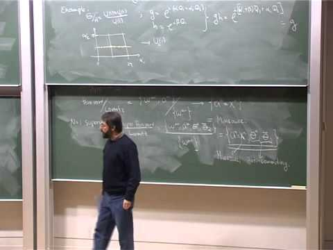 Lec 10 - Supersymmetry | University of Cambridge