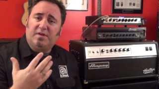 Ampeg Bass Heads - Understanding Gain Structure