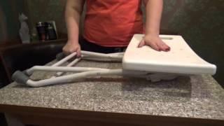 Обзор товаров для инвалидов. Стульчик для ванной