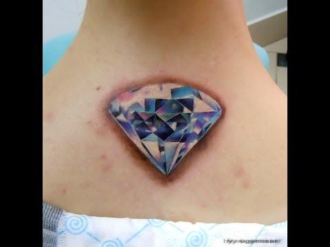 Tatuajes De Diamantes Ideas Y Ejemplos Para Tatuajes Youtube