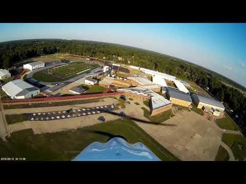 Fly over of Liberty Eylau High School Texarkana TX