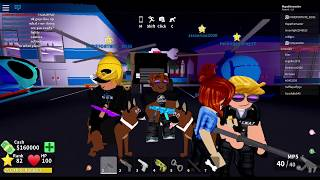 S.W.A.T TEAM!? (Roblox Mad City)