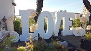 Аренда букв Love | большие букы лав на свадьбу