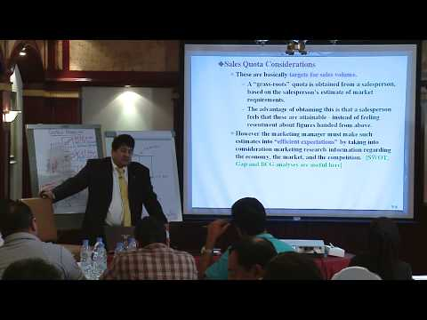 STRATEGIC BUSINESS ANALYSIS - Topic 6 - Promotion: Push Strategy and Human Resource Management