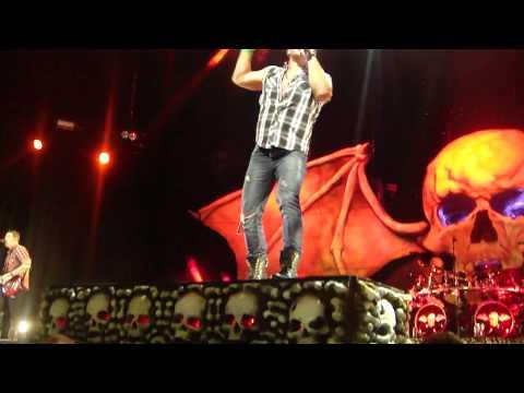 Avenged Sevenfold - Bat Country w/Chris Jericho -  Uproar Tampa 2011 9.3.11