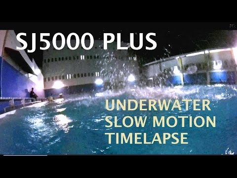 (SJ5000 PLUS test) SJCAM TEST UNDERWATER, SLOW MOTION, TIMELAPSE, NIGHT, RIDE TEST.