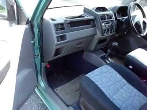 mitsubishi pajero mini h58a 0007791 youtube