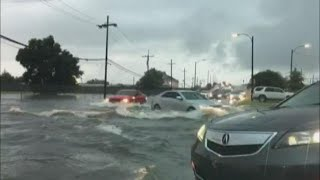New Orleans flooding: 'Parts of Uptown are flooding that I've never seen flooded before'
