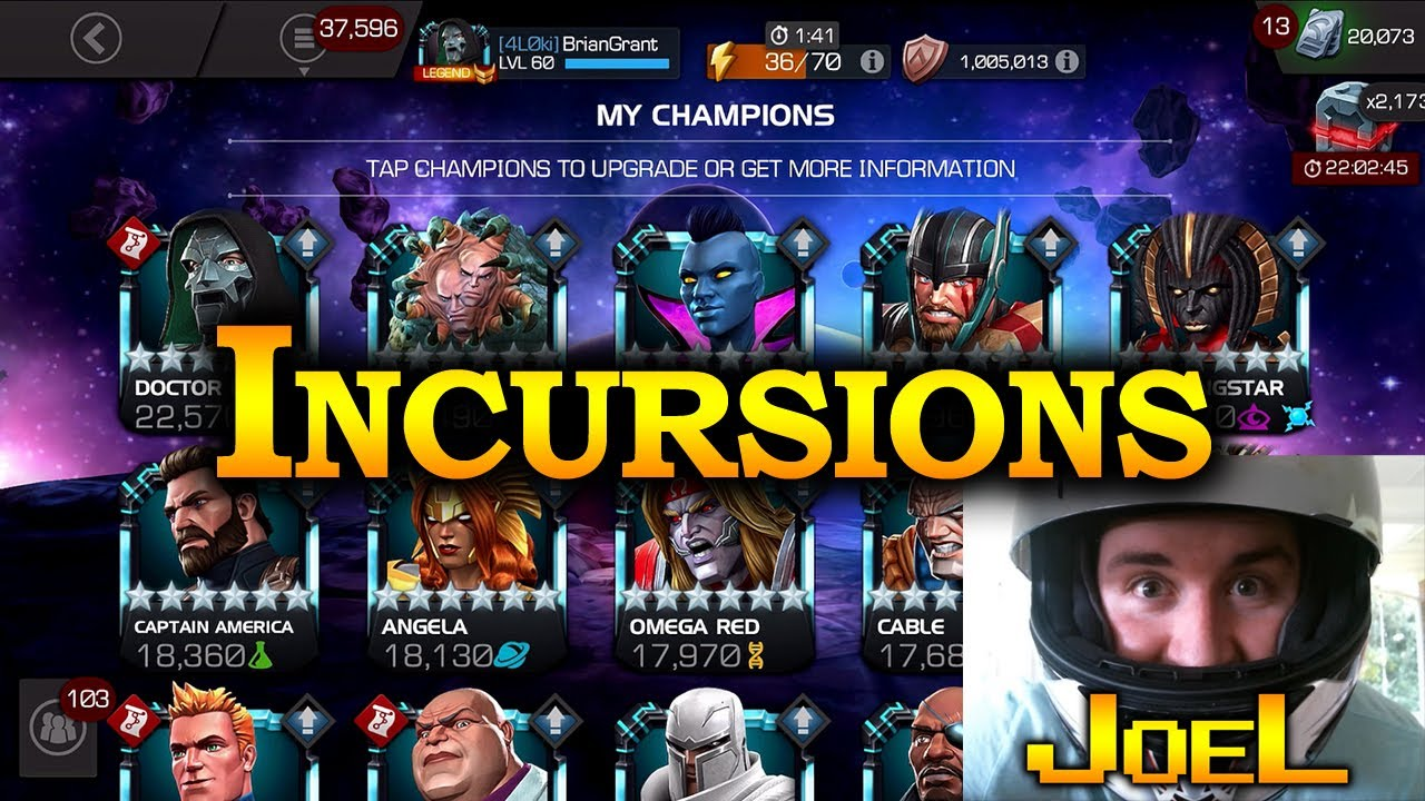Download Incursions with Joel   Marvel Contest of Champions