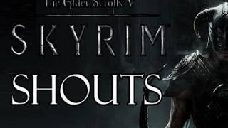 Elder Scrolls V: Skyrim - Shouts Walkthrough