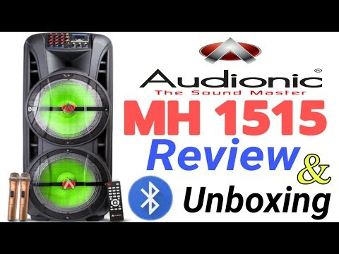 Audionic Speaker | MH 1515 Complete Review And Unboxing | #1 | By Sajjawal Ali TV
