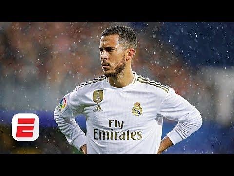 Is Real Madrid's Eden Hazard Really A Lazy Player?   La Liga