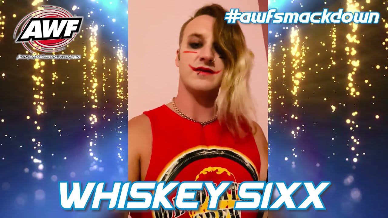 Whiskey Sixx ready to return to the ring this Friday in Blacktown for Chilean Chain Match Vs Ramirez