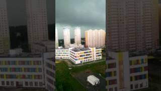 Москва. Ураган. Штормовое предупреждение. Ливень.
