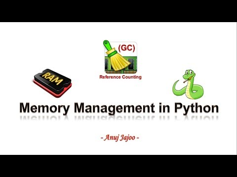 Memory Allocation and Management in Python - simplified