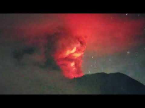 "Breaking ""Apocalyptic Sign Bali Volcano Erupts In Indonesia"""