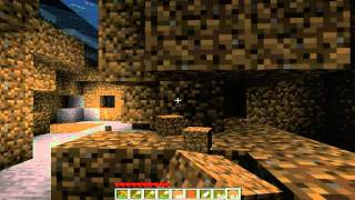 "MINECRAFT LETS PLAY: Ep. 2 ""SO FIRE MELTS ICE.....DUH!"""
