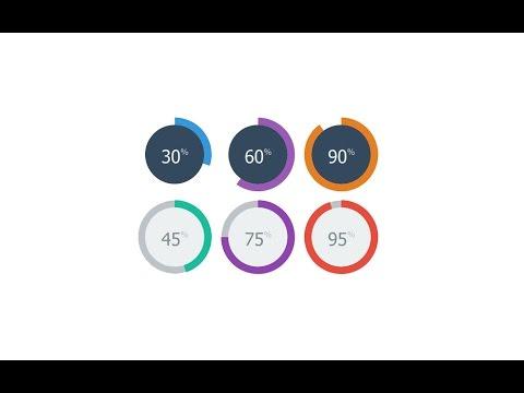 Visual Studio 2012, 2013, 2015 Circle progress bar C# and VB NET - Source  Code