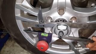 Причина дергания авто при трогании. Как проверить люфт в приводе колёс, Ford Tourneo Connect I 1.8d