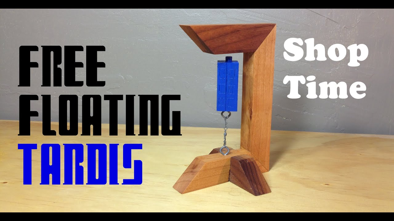 How To Make A Free Floating Tardis