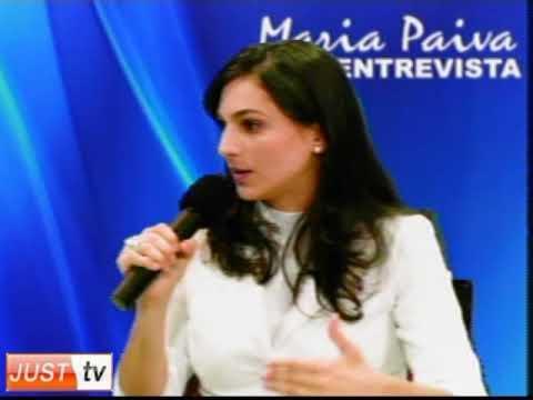 Esteticista Letícia Valim no Programa Maria Paiva ...