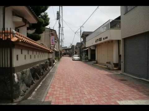 金田散策 ③ 梅雨曇りの街 風景写真館 福岡県福智町金田