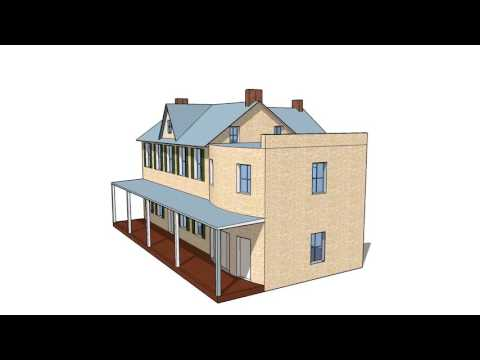 3D Model of Shafer Farm in Burkittsville, Maryland