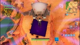 Fortnite getting killed by the purple block what is that symbol!