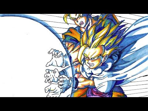 Goku Trains With Gohan