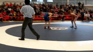 2015 Junior National Championships: 55 kg Sam Jagas vs. Ligrit Sadiku