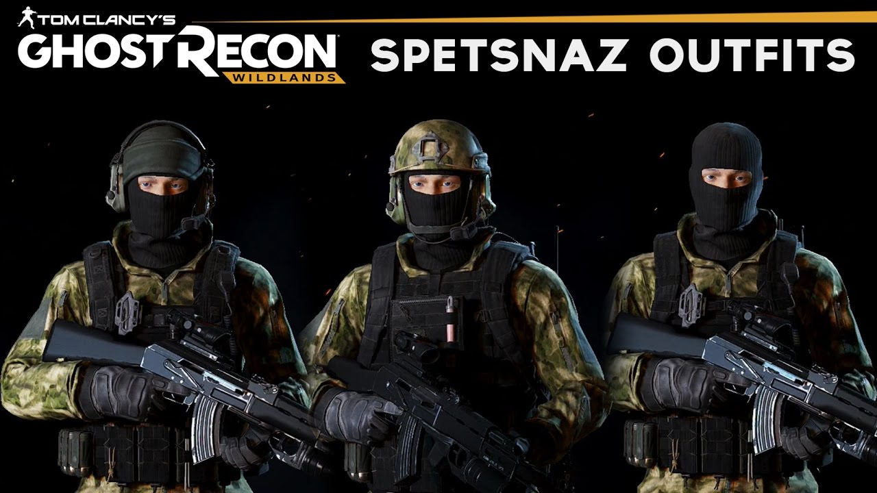 Ghost Recon Wildlands - How to make Spetsnaz Outfits (Russian Spetsnaz Uniform)