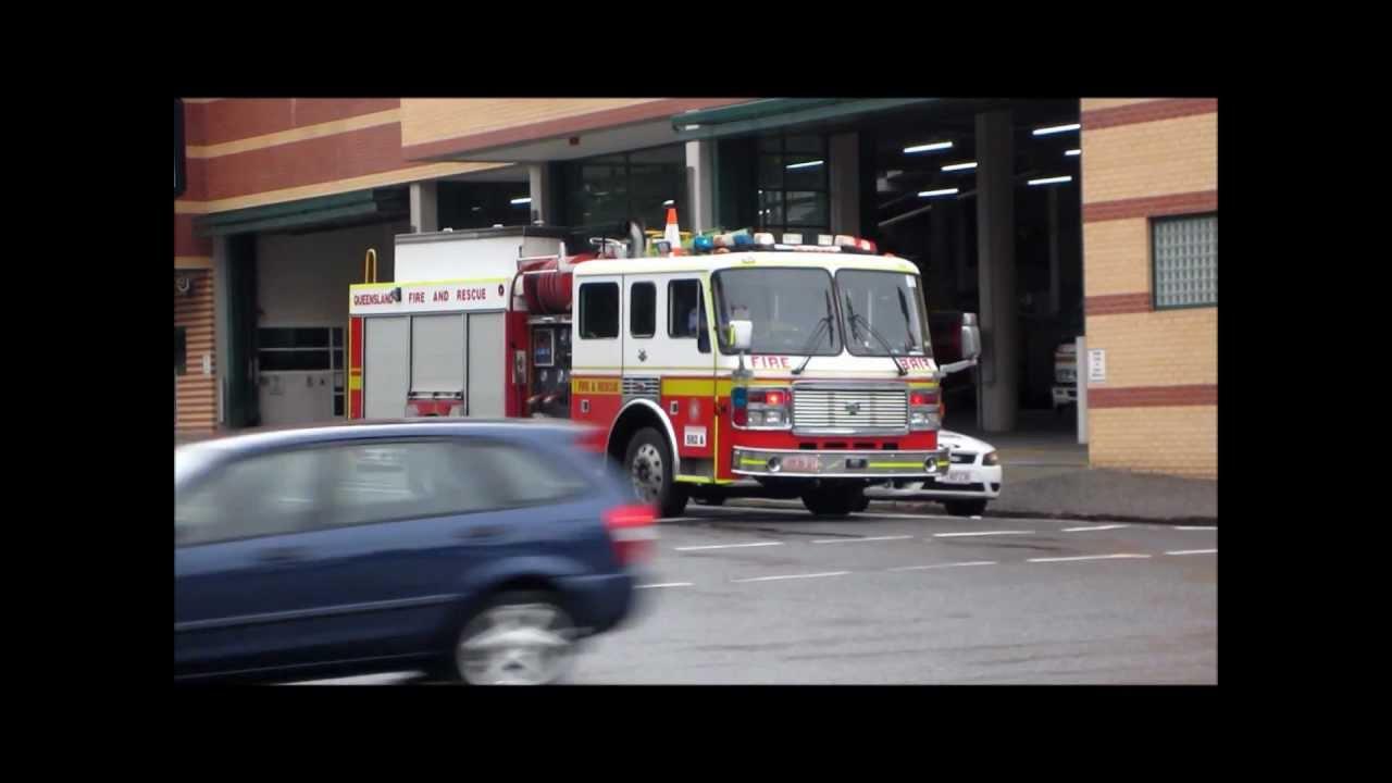 Queensland Fire  Rescue 592A  502J 505A  YouTube