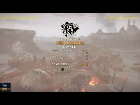 Mad Max - The Dredges Camp - Insignia & Scrap Locations - Wa