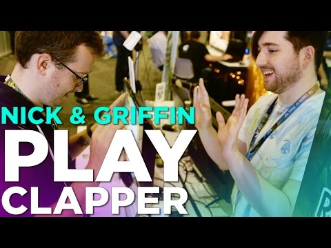 Nick & Griffin Play CLAPPER - Cooperative Clapping Rhythm Game