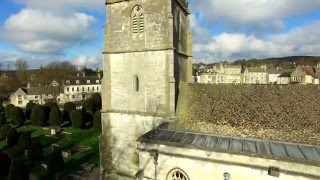 DJI Phantom drone painswick gloucestershire uk