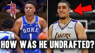 Top 5 Undrafted Players From The 2018 NBA Draft