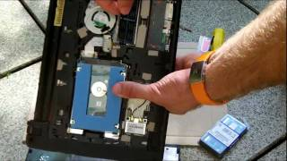 Acer Aspire One 722 RAM and HDD Upgrade