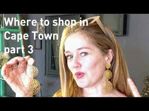 Where to shop in Cape Town part 3: jewellery studios