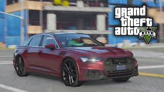 GTA 5 Real Hood Life #10 Franklins Fully Loaded 2020 Audi A6! (GTA 5 Hood Life Mods)