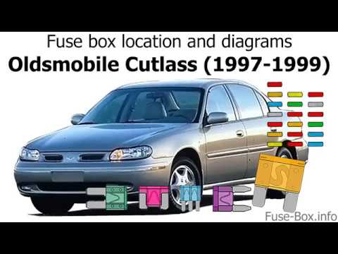 [DIAGRAM_5LK]  Fuse box location and diagrams: Oldsmobile Cutlass (1997-1999) - YouTube | 1999 Oldsmobile Cutl Fuse Box Diagram |  | YouTube